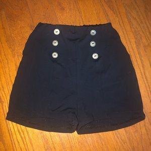 Natalie Dancewear black shorts